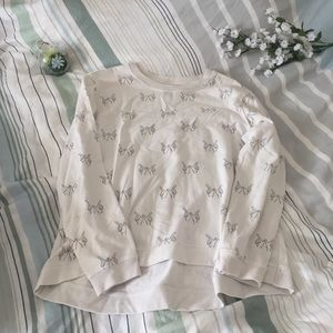 FOREVER21 White Hands Sweater (S)